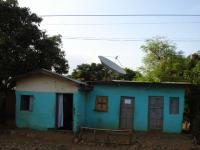 Haus mit SatTV
